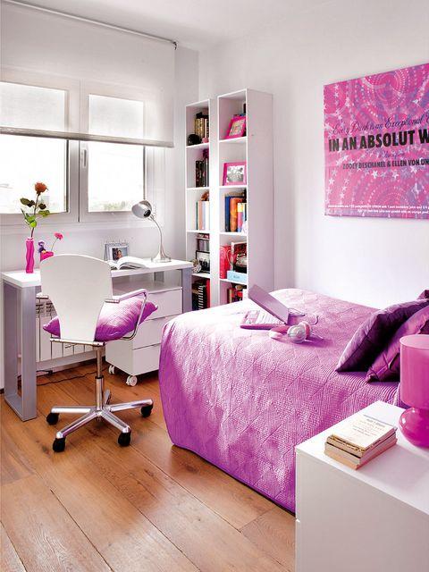 Room, Wood, Interior design, Floor, Product, Flooring, Purple, Wall, Violet, Magenta,