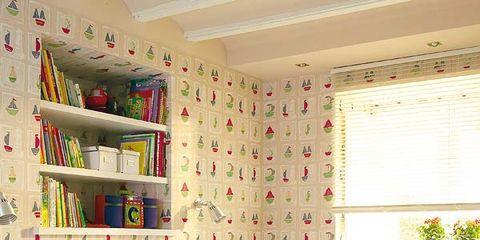 Room, Bed, Interior design, Bedding, Bedroom, Floor, Textile, Wall, Bed sheet, Red,