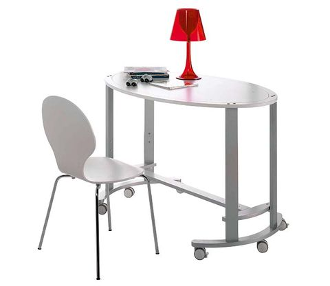 Product, Red, Furniture, Line, Floor, Table, Grey, Parallel, Material property, Metal,
