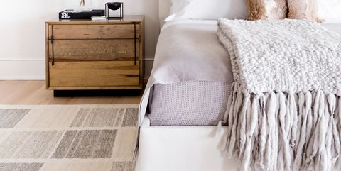 Bedroom, Furniture, Bed, Bed sheet, Room, Nightstand, Bedding, Floor, Wall, Bed frame,
