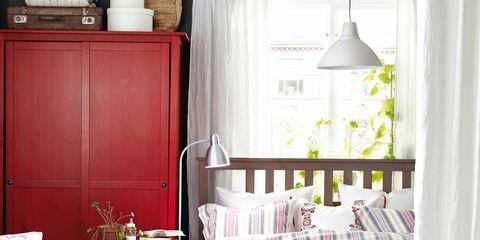 Room, Interior design, Textile, Home, Furniture, Linens, Interior design, Floor, Window treatment, Home accessories,