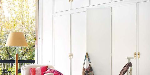 Room, Lampshade, Interior design, Lamp, Home, Linens, Door, Interior design, Home accessories, Pillow,