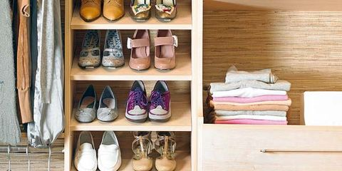 Tan, Shelving, Collection, Hardwood, Shelf, Shoe organizer, Peach, Wood stain, Plywood, Retail,