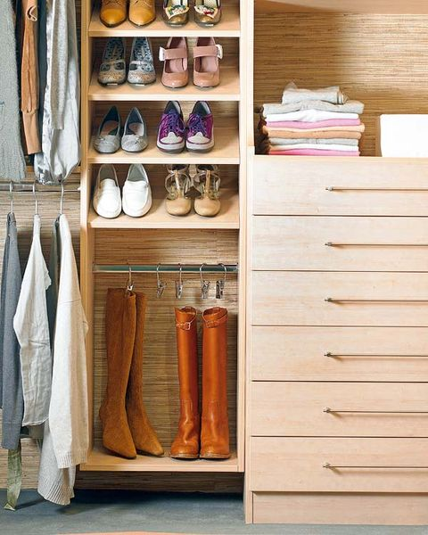 Tan, Shelving, Collection, Hardwood, Shelf, Shoe organizer, Peach, Wood stain, Plywood, Retail,