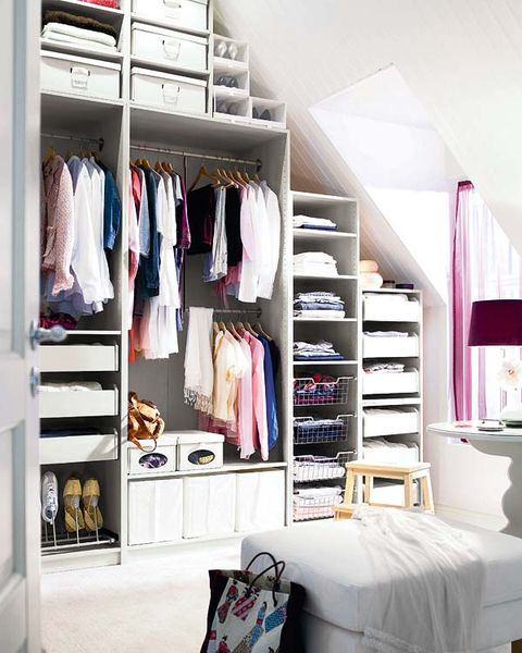 Room, Textile, Shelving, Shelf, Furniture, Closet, Interior design, Lamp, Linens, Clothes hanger,