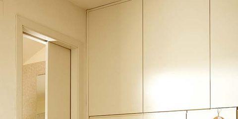 Room, Textile, Bed, Floor, Interior design, Wall, Linens, Flooring, Clothes hanger, Bedroom,