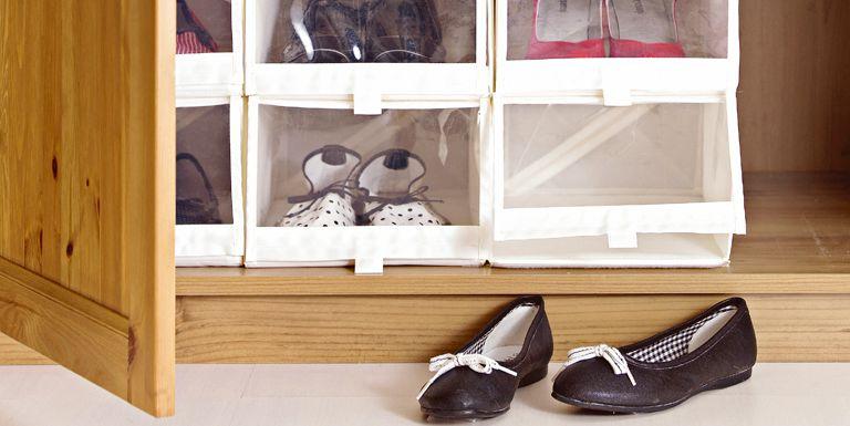 Ordenar zapatos y bolsos