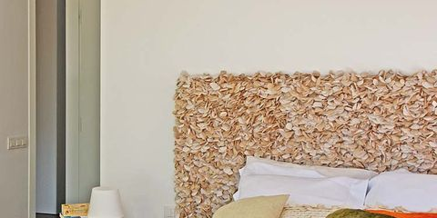 Room, Textile, Interior design, Red, Linens, Bedding, Wall, Bedroom, Bed sheet, Bed,