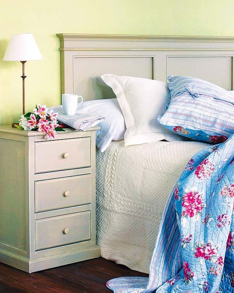 Blue, Room, Textile, Home, Interior design, Chest of drawers, Wall, White, Drawer, Furniture,
