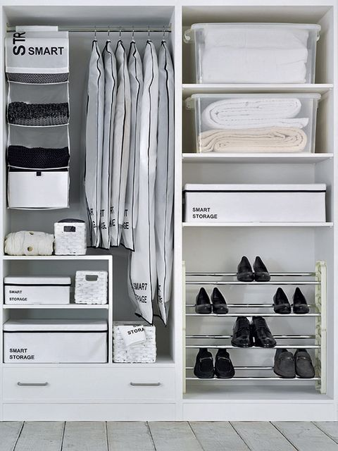 Shelf, Shelving, White, Room, Clothes hanger, Collection, Closet, Shoe organizer, Grey, Wardrobe,