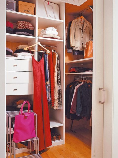 Room, Clothes hanger, Closet, Chest of drawers, Collection, Shelving, Shelf, Wardrobe, Drawer, Cabinetry,