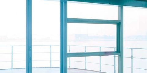 Blue, Swimming pool, Aqua, Turquoise, Teal, Azure, Daylighting, Office equipment, Rectangle, Machine,