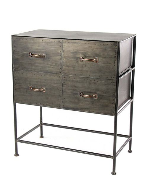 Drawer, Furniture, Chest of drawers, Sideboard, Dresser, Table, Chest, Chiffonier, Shelf, Metal,