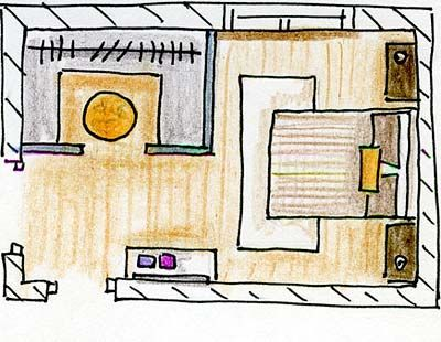 Yellow, Line, Parallel, Artwork, Rectangle, Illustration, Design, Drawing, Painting, Sketch,