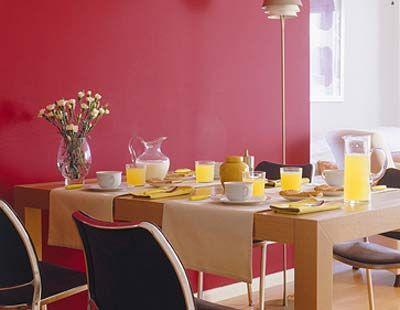 Yellow, Room, Serveware, Furniture, Table, Tablecloth, Dishware, Interior design, Interior design, Glass,