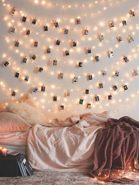 Decoration, Bed, Bed sheet, Wallpaper,