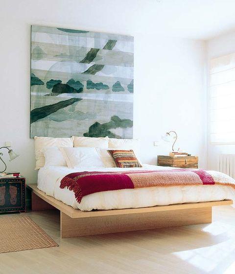 Decorar la pared de la cama - Cuadros cabecero cama ...