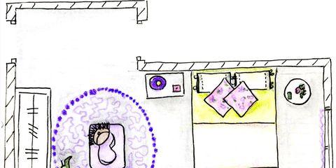White, Purple, Line, Rectangle, Parallel, Lavender, Magenta, Plan, Diagram, Circle,