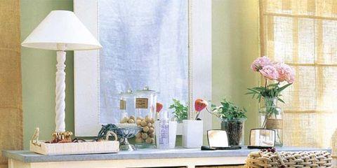 Room, Interior design, Interior design, Artifact, Bouquet, Vase, Wicker, Drawer, Flower Arranging, Peach,