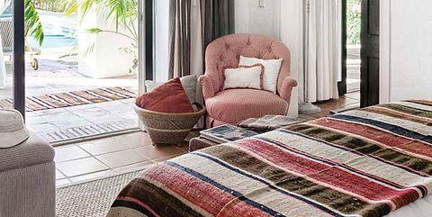 Bedroom, Furniture, Room, Property, Bed, Interior design, Bed sheet, Floor, Bed frame, Building,