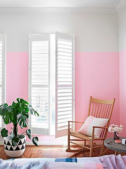 Room, Wood, Interior design, Flowerpot, Window covering, Wall, Floor, Fixture, Window treatment, Home,