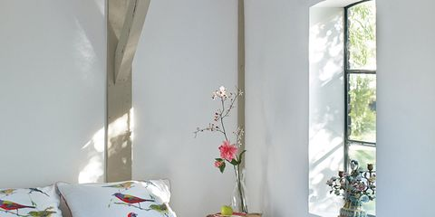 Bed, Room, Interior design, Bedding, Bedroom, Textile, Bed sheet, Wall, Linens, Furniture,