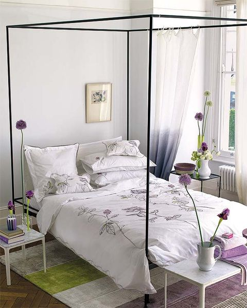 Room, Interior design, Bed, Property, Furniture, Textile, Bedding, Wall, Linens, Floor,