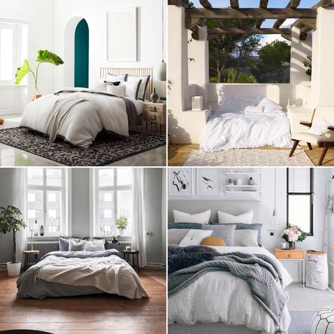 Bed, Room, Interior design, Bedding, Bedroom, Bed sheet, Wall, Property, Floor, Architecture,