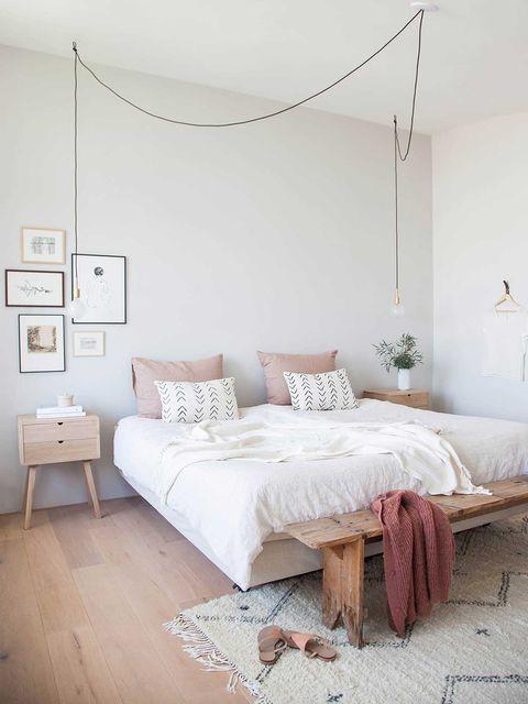Bedroom, Furniture, Bed, Room, Bed sheet, Bed frame, Interior design, Floor, Wall, Property,