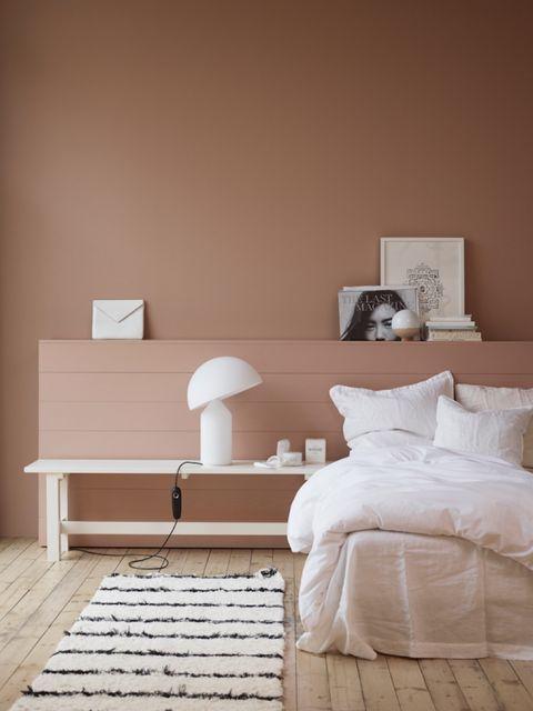 Furniture, Room, Bedroom, White, Bed, Wall, Interior design, Floor, Bed frame, Bed sheet,