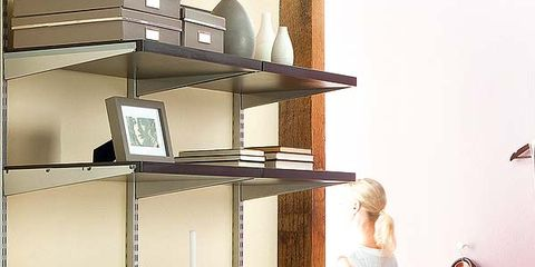 Dress, Interior design, Shelving, Serveware, Photography, Shelf, Peach, Still life photography, One-piece garment, Vase,