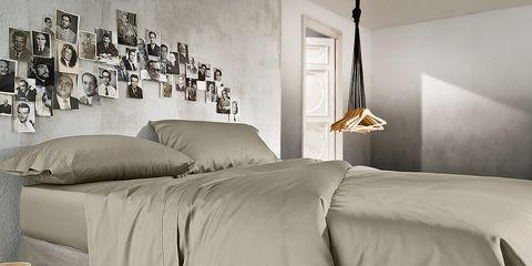 Lighting, Interior design, Room, Property, Bedding, Textile, Bed sheet, Bedroom, Floor, Wall,