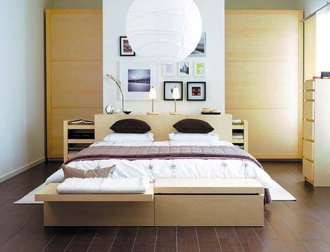 Ideas para ordenar el dormitorio - Dormitorio malm ikea ...