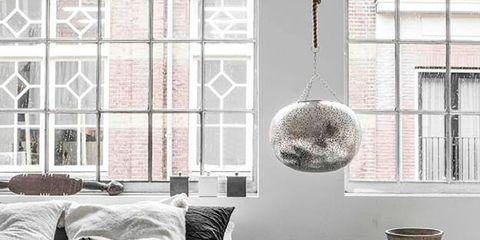 Window, Room, Interior design, Wall, Home, Linens, Grey, Bedding, Bed sheet, Interior design,