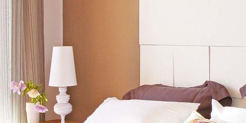 Room, Interior design, Bedding, Textile, Bedroom, Bed sheet, Wall, Bed, Linens, Furniture,