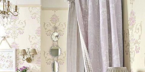 Room, Interior design, Textile, Pink, Wall, Interior design, Purple, Living room, Home, Teal,