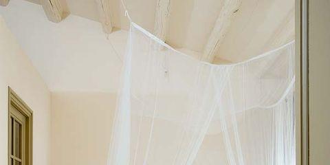 Room, Interior design, Bed, Floor, Property, Bedding, Textile, Wall, Furniture, Flooring,