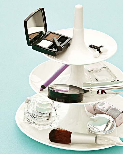 Serveware, Dishware, Cosmetics, Still life photography, Perfume, Eye shadow, Silver, Saucer, Kitchen utensil, Mirror,