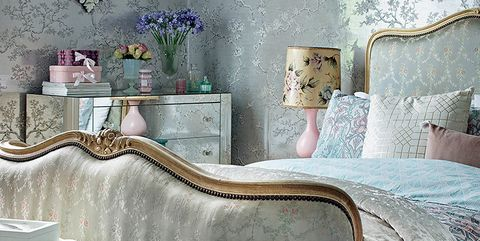 Blue, Room, Interior design, Wall, Textile, Home, Furniture, Linens, Interior design, Teal,
