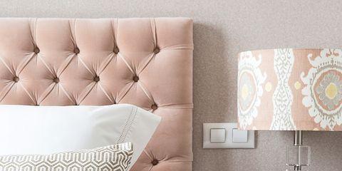Brown, Room, Bed, Interior design, Wall, Textile, Bedding, Furniture, Linens, Bedroom,