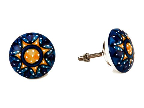 Blue, Amber, Electric blue, Cobalt blue, Circle, Aqua, Body jewelry, Ball, Sphere, Natural material,