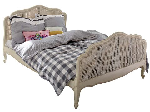 Furniture, Product, Bed, Bed frame, Bedding, Room, Textile, Beige, Mattress, Bedroom,