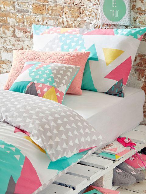 Textile, Pattern, Pink, Cushion, Turquoise, Teal, Orange, Pillow, Aqua, Throw pillow,