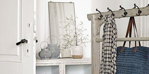 Room, Shelving, Shelf, Grey, Clothes hanger, Collection, Cupboard, Curtain, Window treatment,