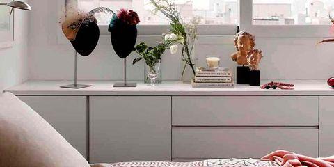 Room, Interior design, Red, Floor, Wall, Interior design, Flooring, Home, Grey, Linens,