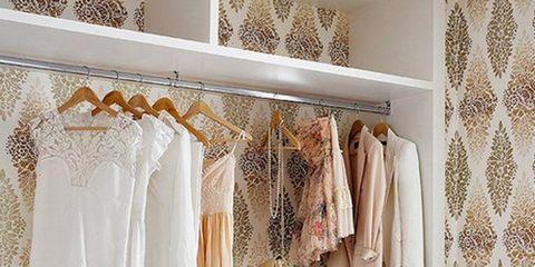 Room, Interior design, Textile, Floor, Clothes hanger, Cabinetry, Grey, Beige, Interior design, Home accessories,