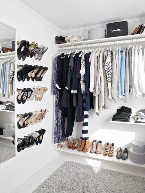 Room, Clothes hanger, Shelving, Closet, Shelf, Fashion, Collection, Grey, Outlet store, Boutique,