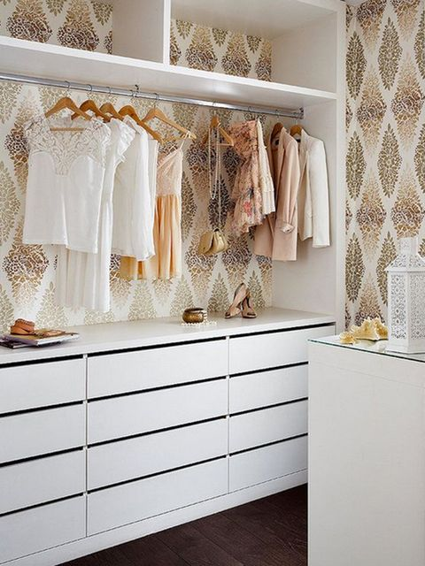 Interior design, Room, Textile, Floor, Flooring, Wall, Clothes hanger, Interior design, Beige, Cabinetry,