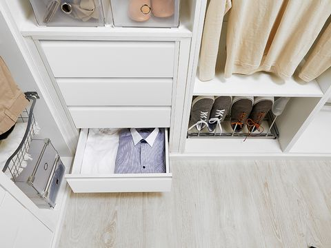 Room, Tan, Beige, Khaki, Shelving, Cabinetry, Shelf, Chest of drawers, Drawer, Cupboard,