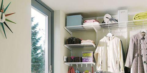 Room, Interior design, Clothes hanger, Fixture, Retail, Closet, Shelving, Boutique, Interior design, Outlet store,